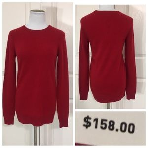 NWT! Cashmere C by Bloomingdales sweater
